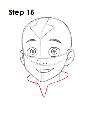 Draw Aang Avatar 15