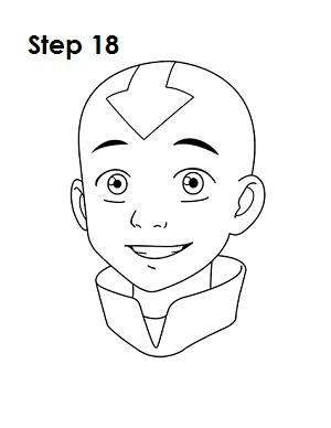 Draw Aang Avatar 18