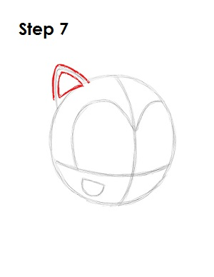 how to draw amy rose body