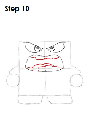 Draw Anger Inside Out 10