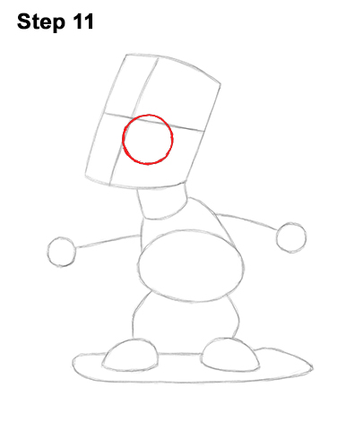 How to Draw Bart Simpson Full Body Skateboard Skater Skating 11