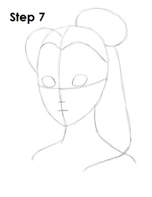 how to draw belle in her dress