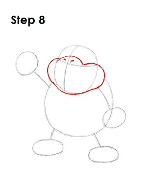 How to Draw Bowser Jr. Step 8