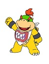 videos of how to draw bowser jr