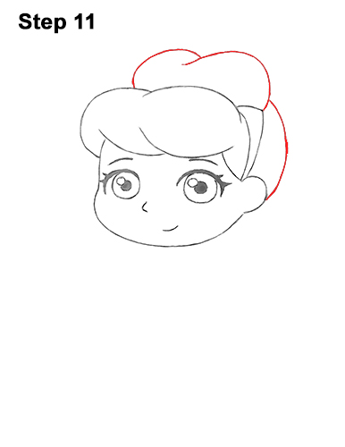 Draw Mini Chibi Little Cinderella 11