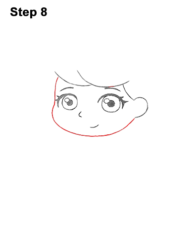 how to draw cinderella face