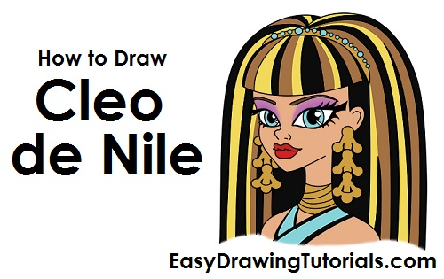 How to Draw Cleo de Nile
