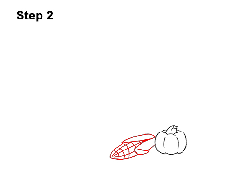 How to Draw Cartoon Cornucopia Thanksgiving 2