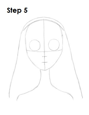 How to Draw Corpse Bride Step 5