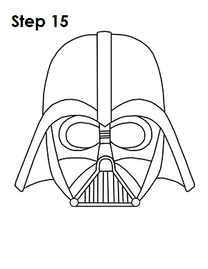 Gallery For gt Simple Darth Vader Drawing