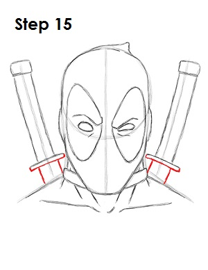 Draw Deadpool Marvel 15