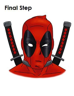 draw deadpool marvel
