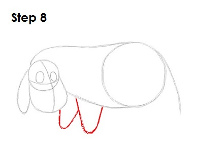How To Draw Eeyore Face