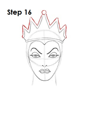 Evil crown drawing - photo#17