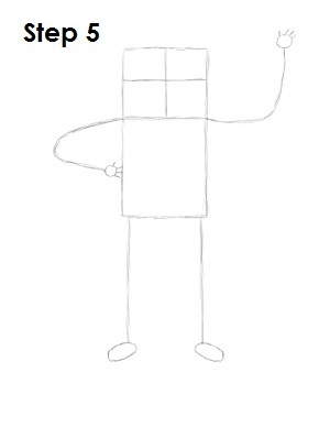 How to Draw Finn Step 5