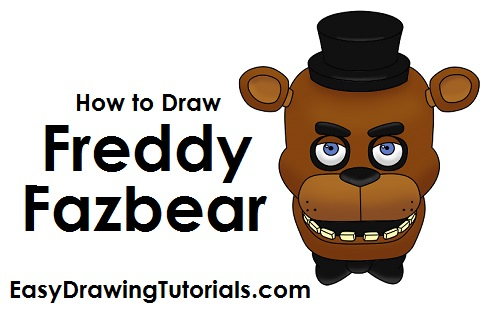 How to Draw Freddy Fazbear