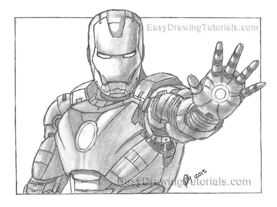 Pics Photos - Iron Man Drawing