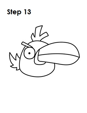 How To Draw Angry Birds (Green)