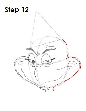 Draw The Grinch Step 12