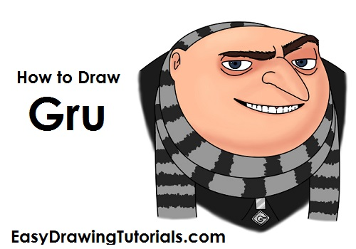How to draw gru despicable me altavistaventures Images