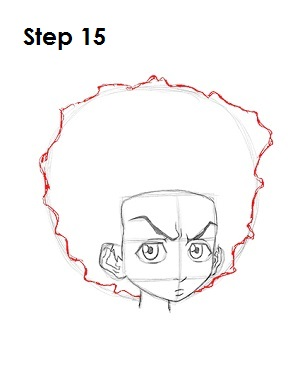 how to draw huey and riley
