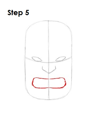 Draw The Hulk Step 5