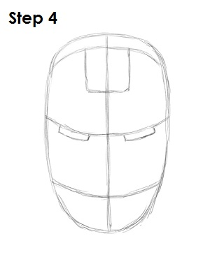 How to draw iron man how to draw iron man step 4 maxwellsz