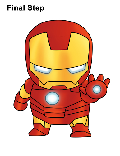 Marvel comics - Mini iron man ...