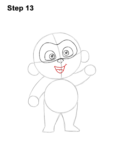 How to Draw Jack Jack Cute Baby Incredibles 13