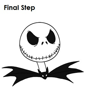 How to Draw Jack Skellington