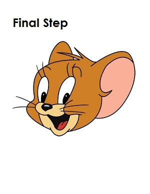 The gallery for --> Tom And Jerry Face Drawing
