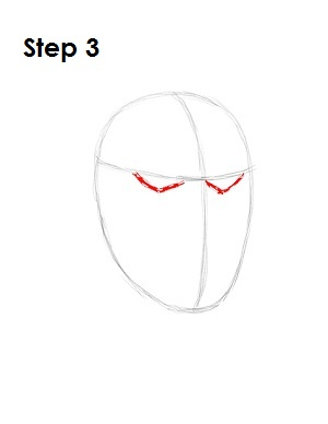 how to draw joker step by step