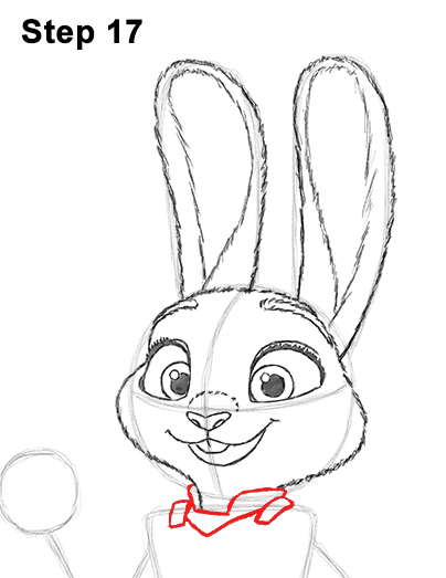 Zootopia Line Art : How to draw judy hopss from zootopia