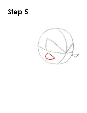 Draw Knuckles Step 5