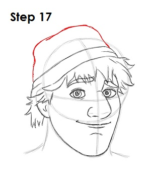 how to draw kristoff full body