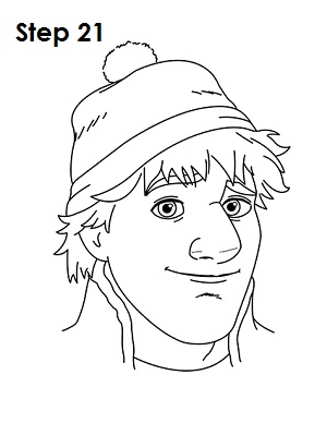 How to Draw KristoffHow To Draw Kristoff From Frozen Easy