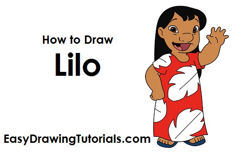 How to Draw Lilo
