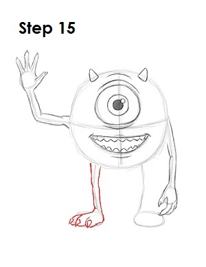 How To Draw Mike Wazowski