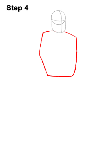 How to Draw Mr. Incredible Bob Parr 4