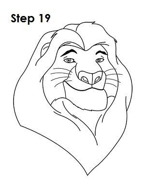 How to Draw Mufasa