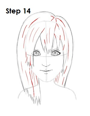 Draw Namine Step 14