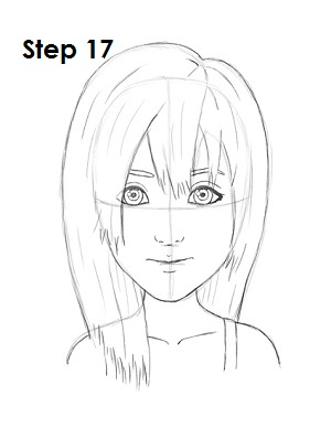 Draw Namine Step 17