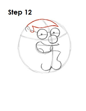 how to draw brian griffin step by step easy