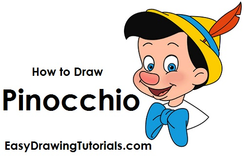 How to Draw Pinocchio Easy Drawings Of Tom And Jerry