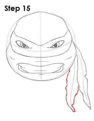 How to Draw Raphael (TMNT)