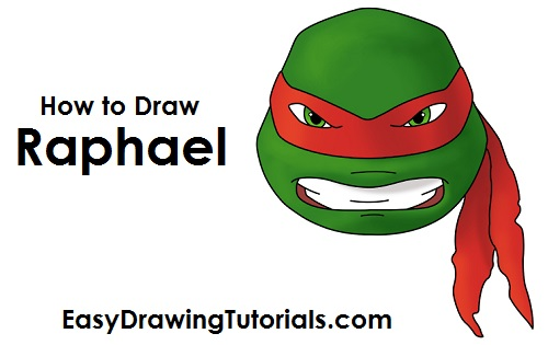 How to Draw Raphael (TMNT) Easy Drawings Of Tom And Jerry