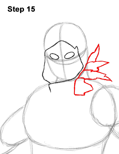 How To Draw Raven From Fortnite Video Step By Step Pictures