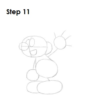 How to Draw a Smurf Step 11