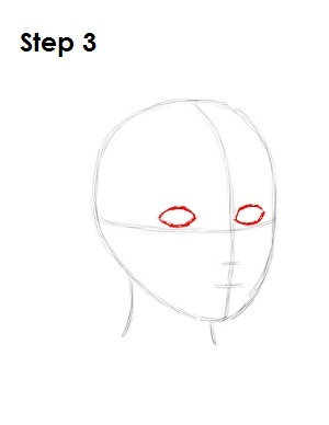 How to Draw Snow White Step 3