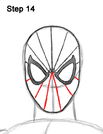 spiderman eyes template gallery